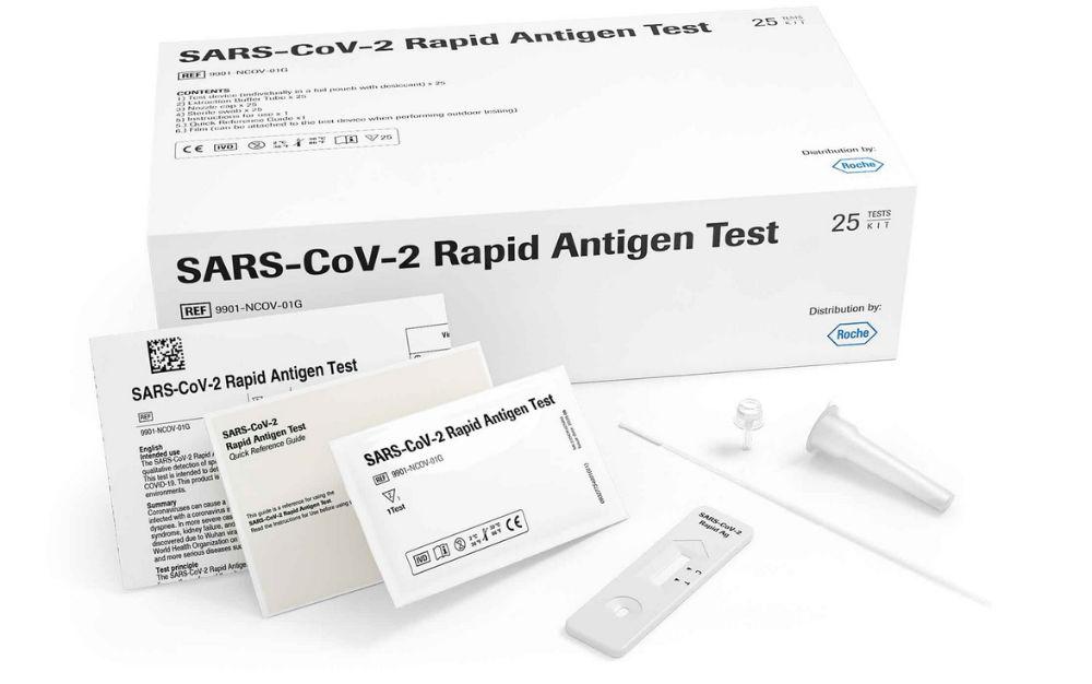 Test antígenos gratis pacientes Clínica Bayona